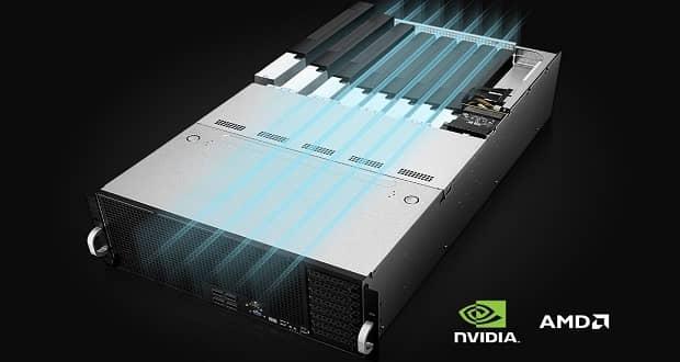 سرورهای ایسوس بر پایه راهکارهای NVIDIA DPU و EGX معرفی شدند