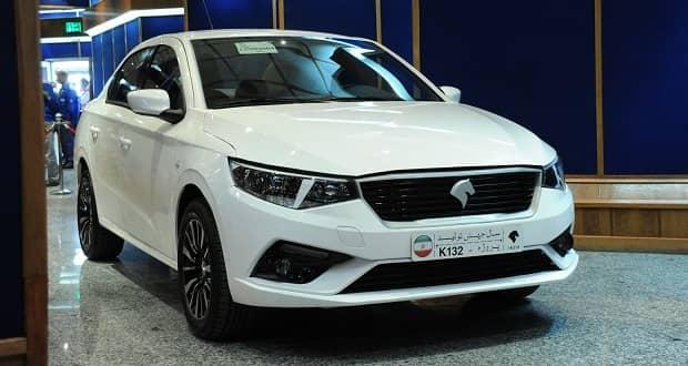 تولید ایران خودرو K132