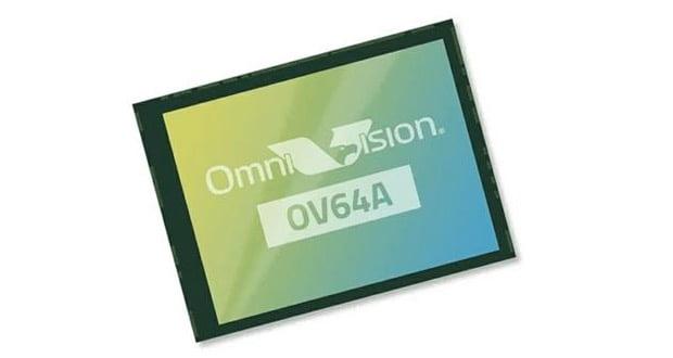 حسگر دوربین ۶۴ مگاپیکسلی OmniVision