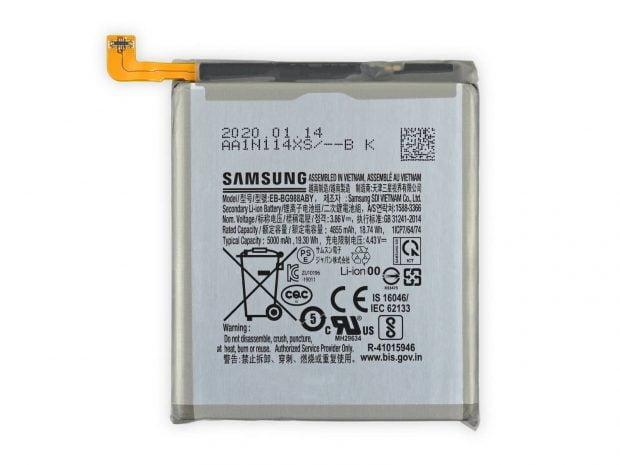 ظرفیت باتری آیفون 12