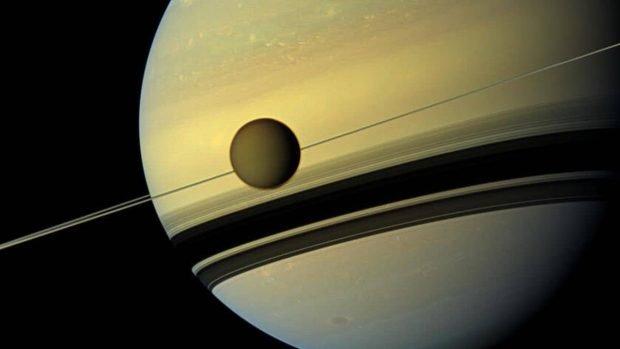کشف نوعی مولکول فضایی عجیب در اتمسفر قمر تایتان