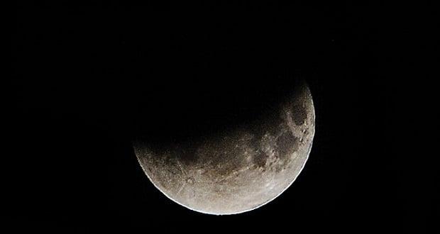 ماه گرفتگی 10 آذر 99