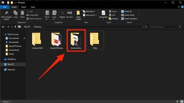 اسکرین شات در ویندوز 10 - Windows 10