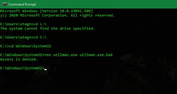بازیابی پسورد ویندوز 10 برای رایانه های شخصی