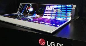 لپ تاپ ۱۷ اینچی با نمایشگر رولی