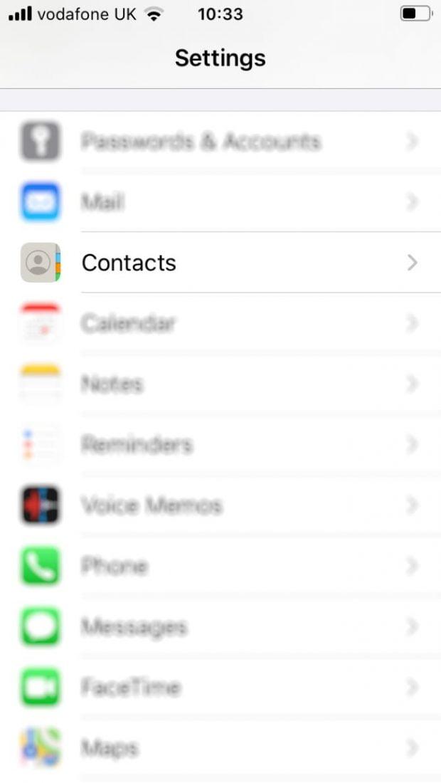 نحوه انتقال مخاطبین از Android به iPhone