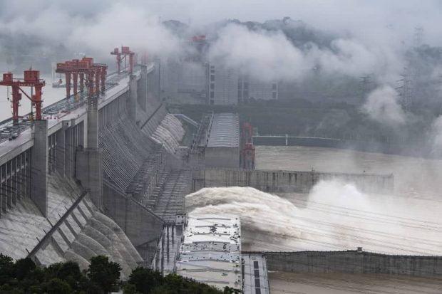 سد سه دره چین