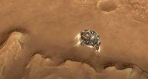 انیمیشن جدید ناسا مراحل کلیدی فرود کاوشگر استقامت روی مریخ را نشان میدهد
