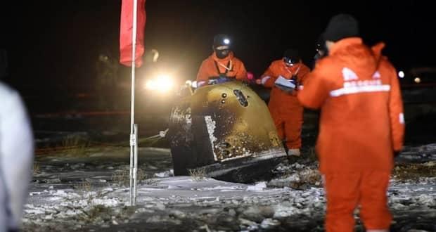 فضاپیمای چانگ ای 5 خاک ماه را بعد از 44 سال به زمین آورد