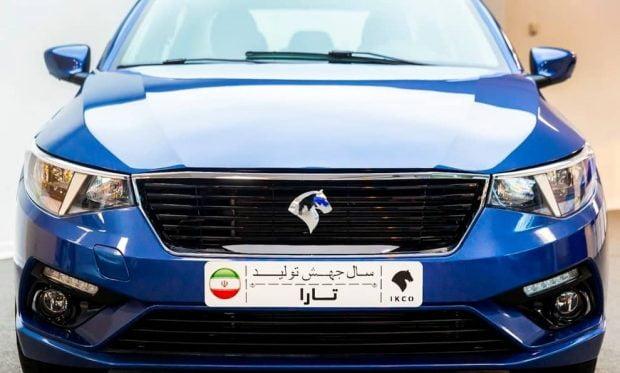 ایران خودرو تارا اتوماتیک