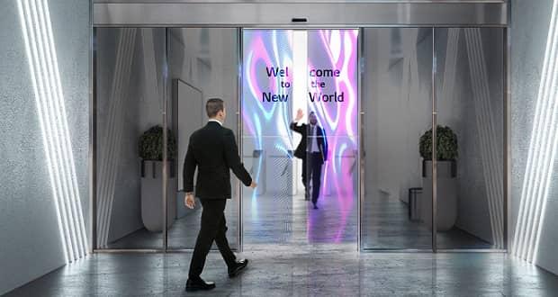 درهای اتوماتیک OLED