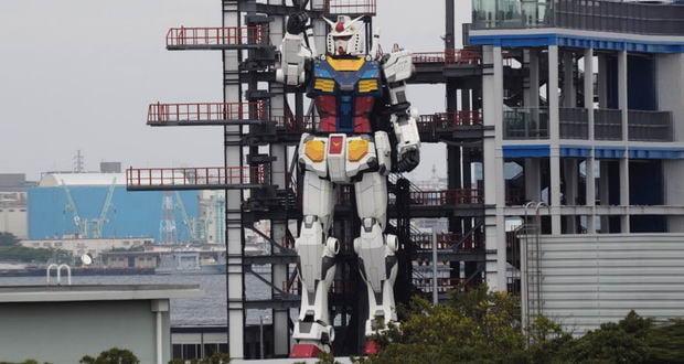ربات 18 متری گاندام