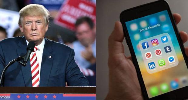 صفحه های ترامپ