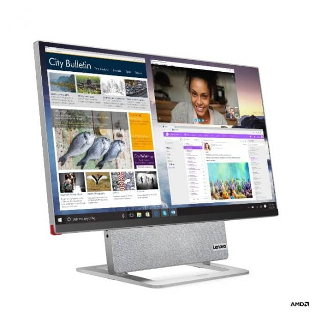 کامپیوتر لنوو با قابلیت چرخش نمایشگر مدل  Yoga 7 AiO