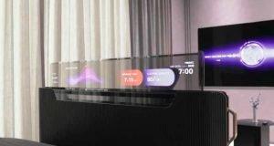تلویزیون شفاف ال جی