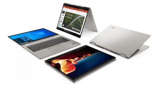 مدل ۲۰۲۱ لنوو ThinkPad X1 Carbon و X1 Titanium Yoga