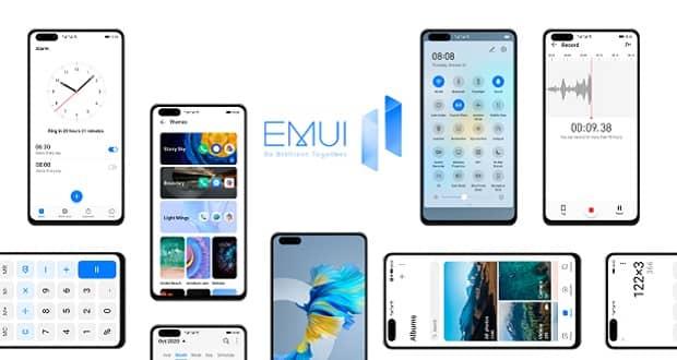 رابط کاربری EMUI 11