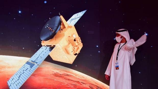 کاوشگر مریخی امید امارات