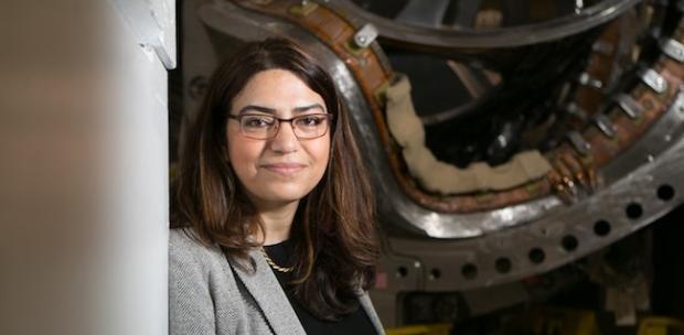 موشک فیوژن فیزیکدان زن ایرانی - فاطیما ابراهیمی