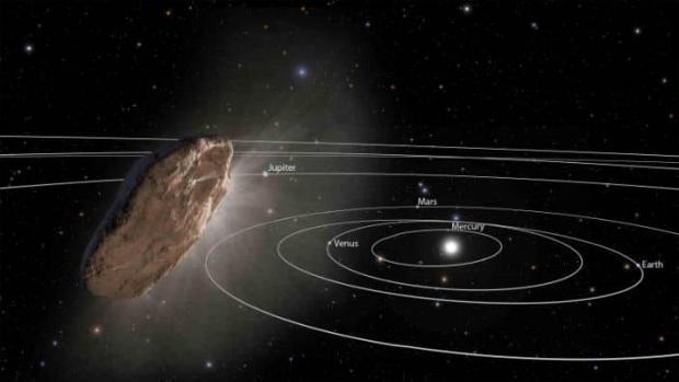 سنگ مرموز اومواموا جزئی از یک سیاره شبیه پلوتون بوده است