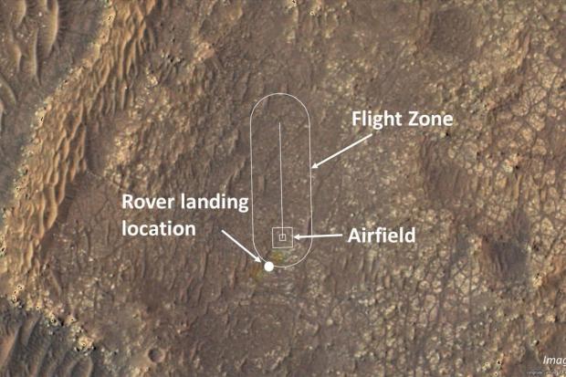 برنامه پرواز هلیکوپتر مریخی نبوغ مشخص شد
