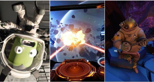 بهترین بازی های فضایی