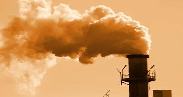دی اکسید کربن اتمسفر