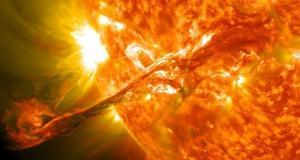 دمای اتمسفر خارجی خورشید