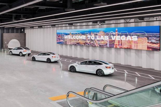 شرکت بورینگ ایلان ماسک اولین تونل خود را در لاس وگاس ساخت