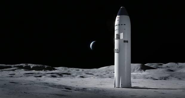 اسپیس ایکس ماه نشین پروژه آرتمیس 2024 ناسا را میسازد