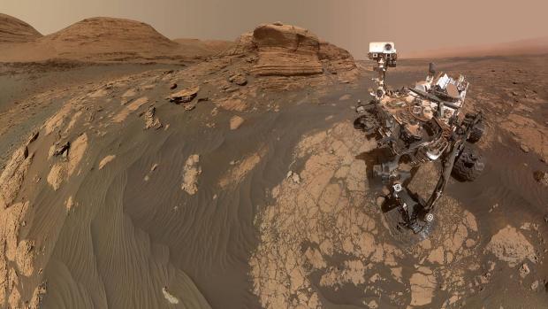 سفلی جدید مریخ نورد کنجکاوی با کوه مرکو خبرساز شد
