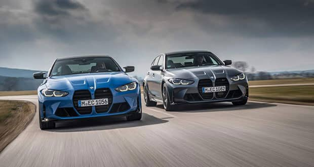 2022 BMW M3 and M4