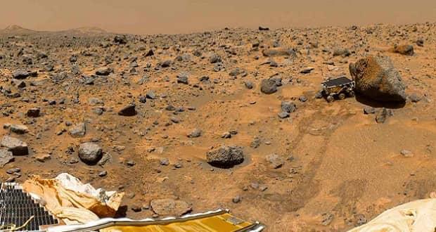 انتقال خاک مریخ به زمین