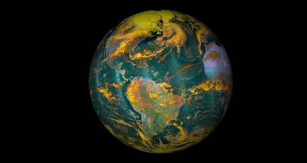 تغییر شکل زمین