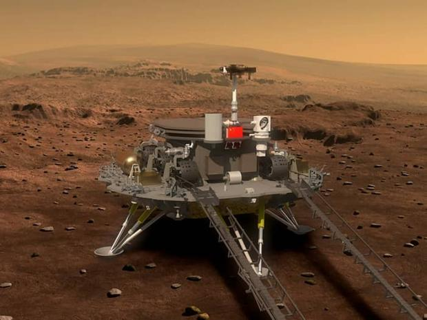 مریخ نورد ژورونگ چین