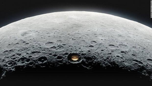 دانشمندان به دنبال ساخت تلسکوپ رادیویی دهانه ماه هستند