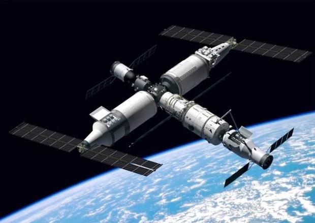 ماژول اصلی ایستگاه فضایی چینی به مدار زمین پرتاب شد