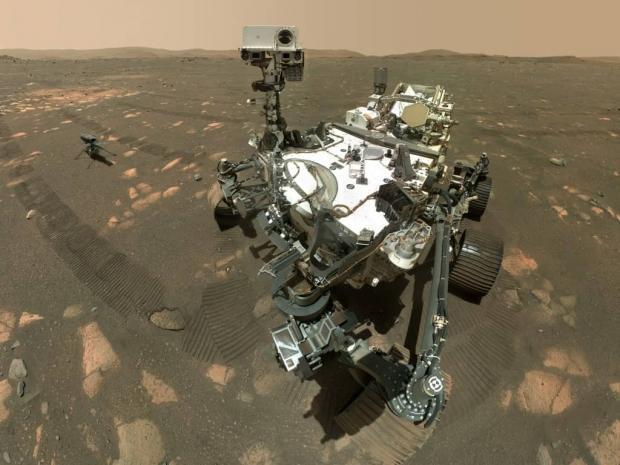 ناسا صدای پرواز هلیکوپتر مریخی نبوغ را منتشر کرد