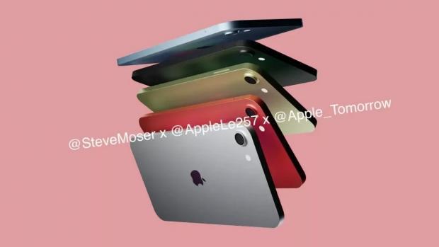 رندرهای آیپاد تاچ جدید