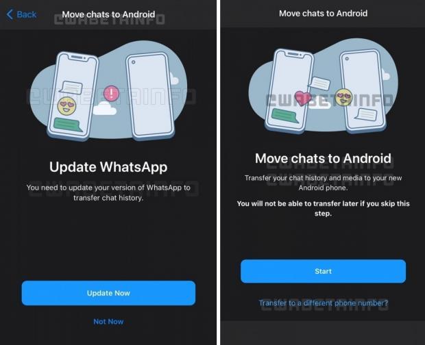 انتقال تاریخچه گفتگو در واتس اپ