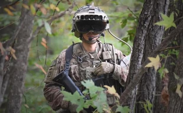 عینک جدید ارتش آمریکا