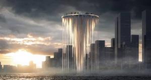 برج آسمانی معلق