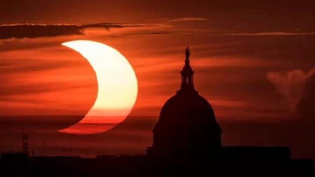 خورشید گرفتگی سال 2021