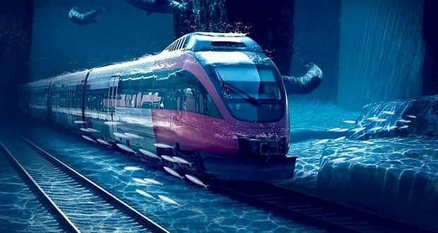 راه آهن زیرآبی چین به آمریکا