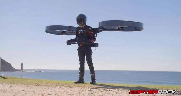 گجت کوپترپک آینده پروازهای انفرادی خواهد بود + ویدیو