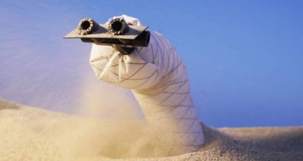 حفاری رباتیک دنیای زیرزمینی با رباتهای نرم + ویدیو