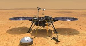 حمام مریخ نشین اینسایت ناسا در سطح سیاره سرخ + ویدیو