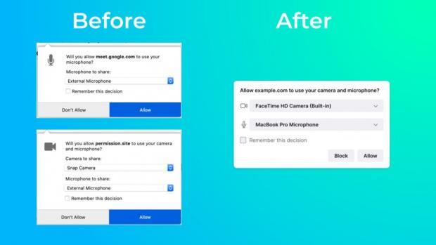 تغییر در طراحی مرورگر فایرفاکس