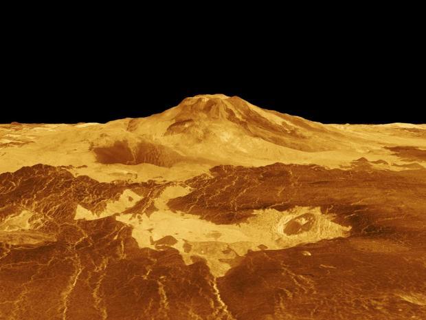 مناطق پیچیده جغرافیایی tessera سیاره زهره