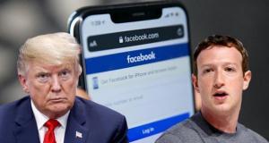 ممنوعیت ترامپ در فیسبوک